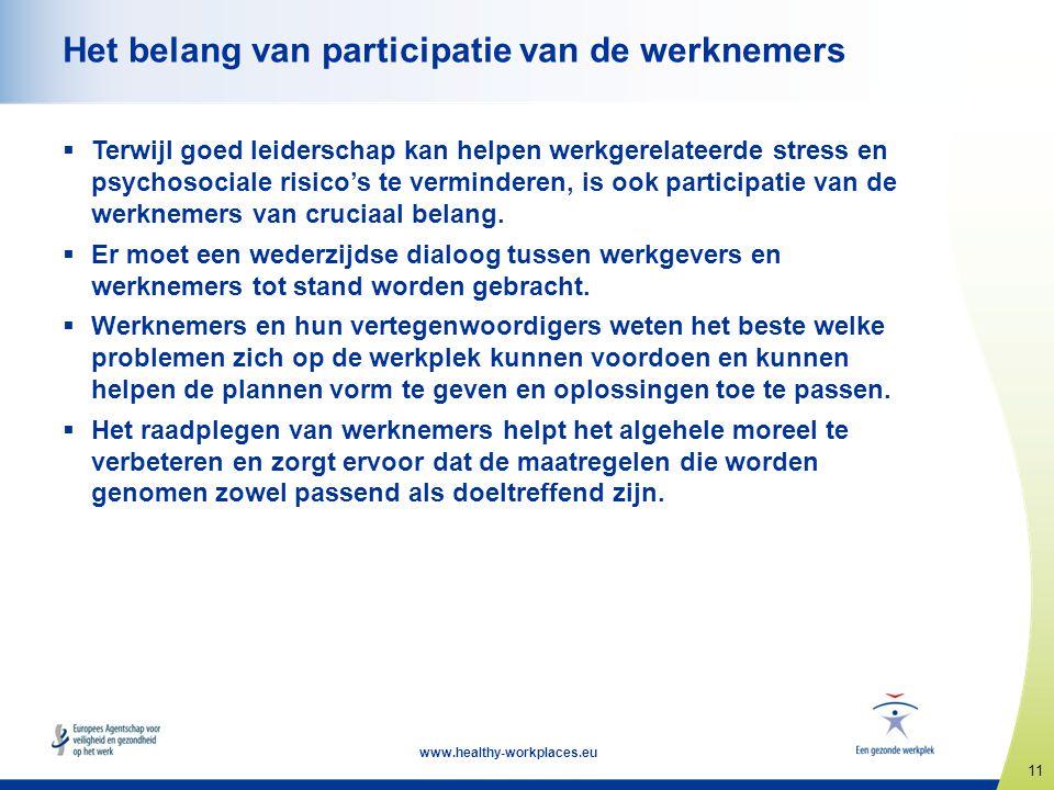 Het belang van participatie van de werknemers