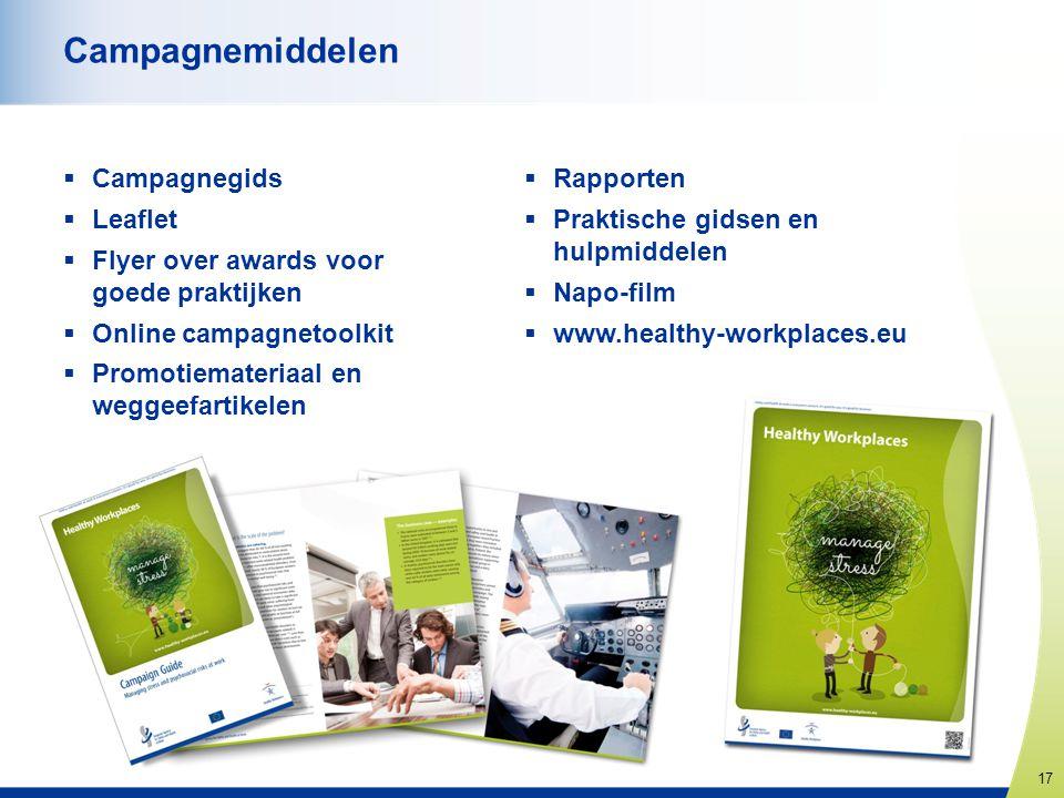 Campagnemiddelen Campagnegids Leaflet