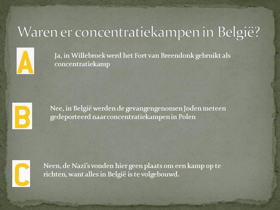Waren er concentratiekampen in België