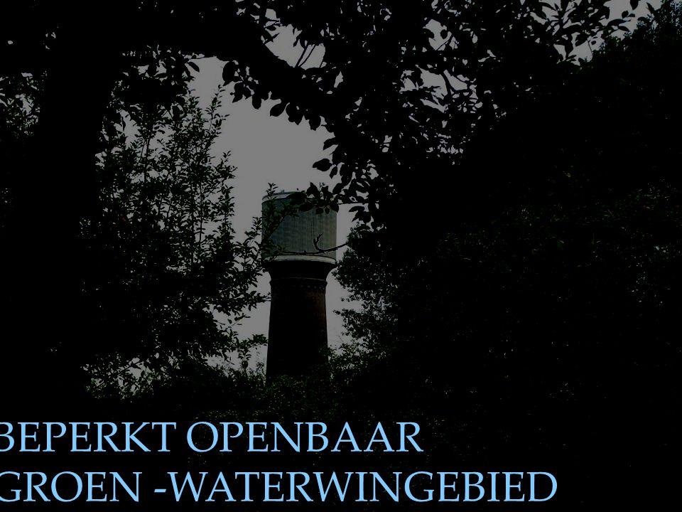 BEPERKT OPENBAAR GROEN -WATERWINGEBIED