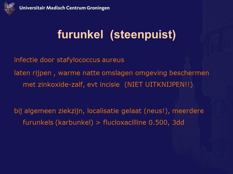 furunkel (steenpuist)