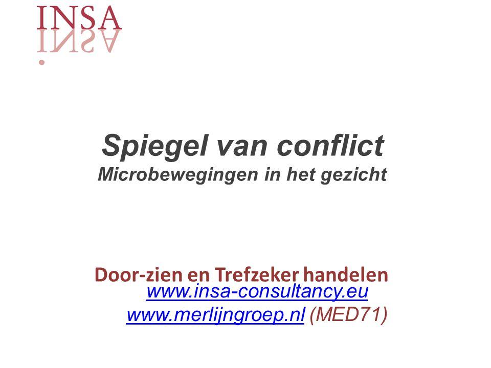 www.insa-consultancy.eu www.merlijngroep.nl (MED71)