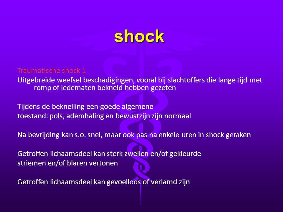 shock Traumatische shock 1