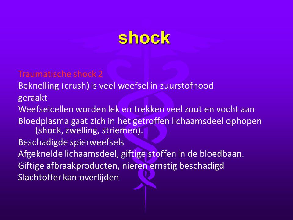 shock Traumatische shock 2
