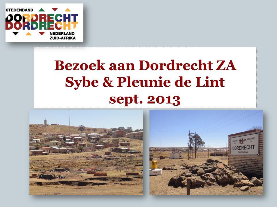 Bezoek aan Dordrecht ZA Sybe & Pleunie de Lint sept. 2013