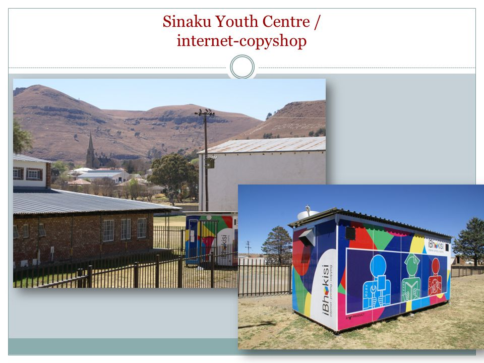 Sinaku Youth Centre / internet-copyshop