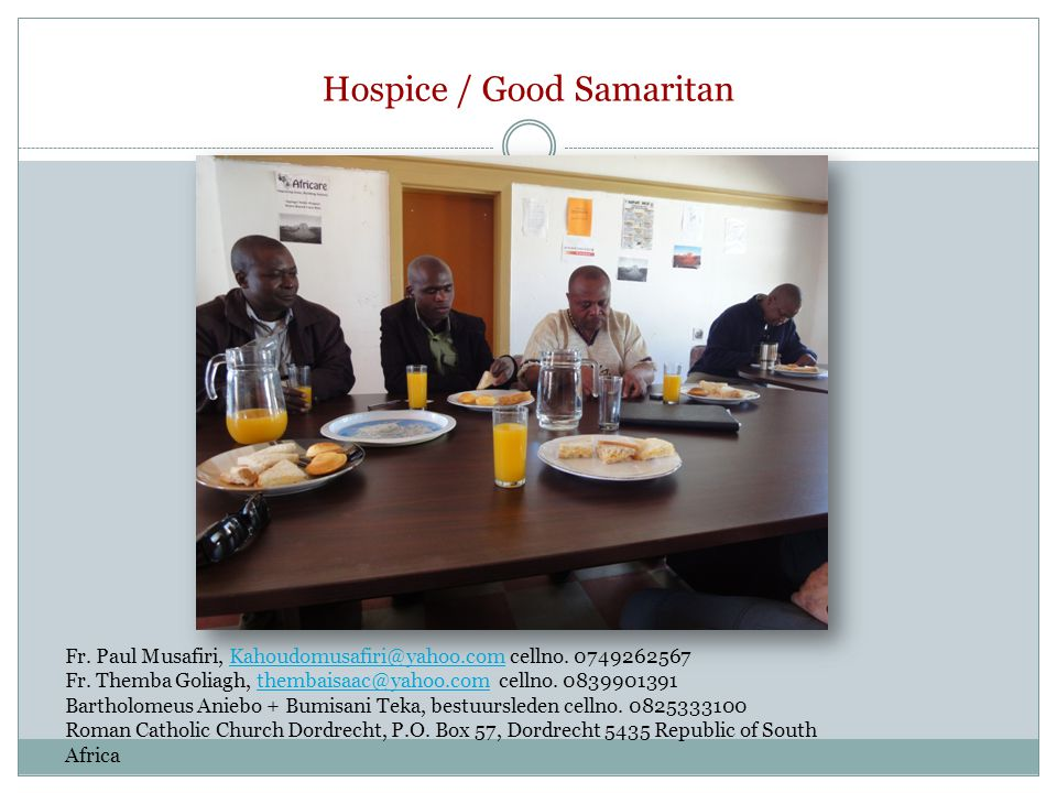 Hospice / Good Samaritan