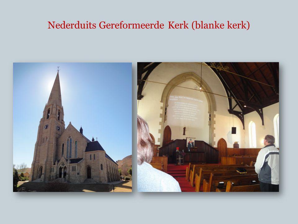 Nederduits Gereformeerde Kerk (blanke kerk)