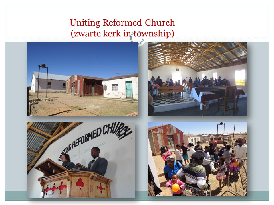 Uniting Reformed Church (zwarte kerk in township)