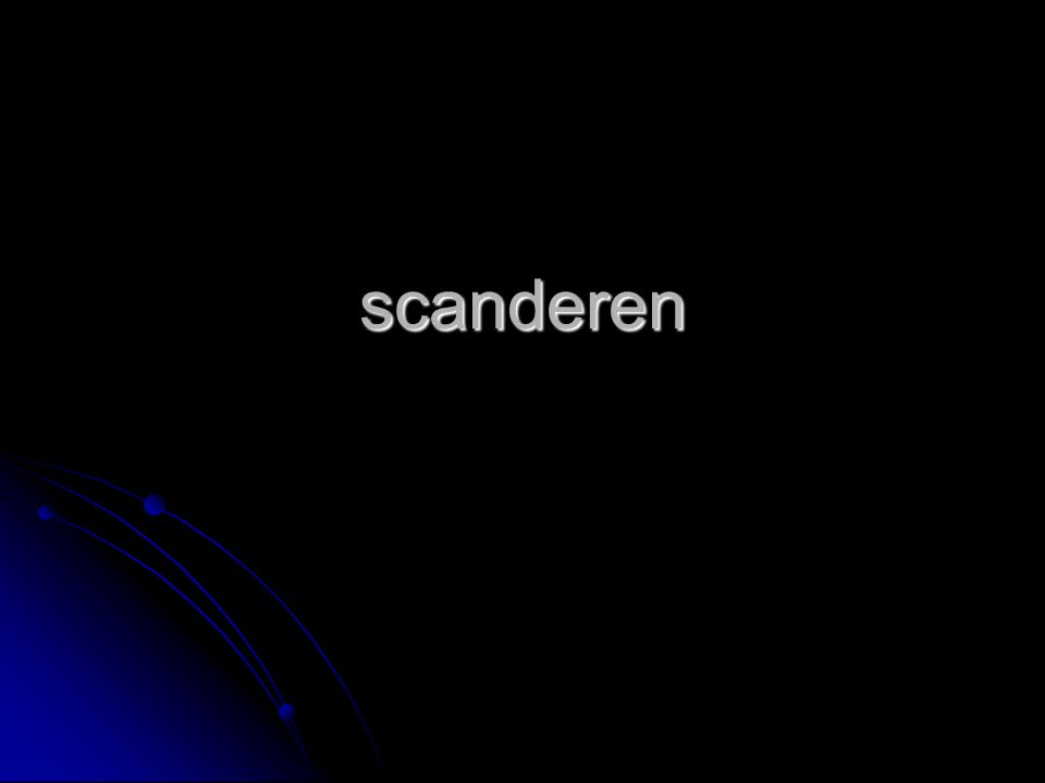 scanderen