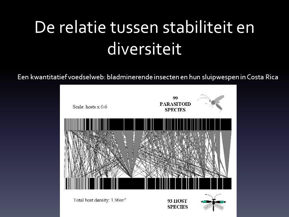 De relatie tussen stabiliteit en diversiteit