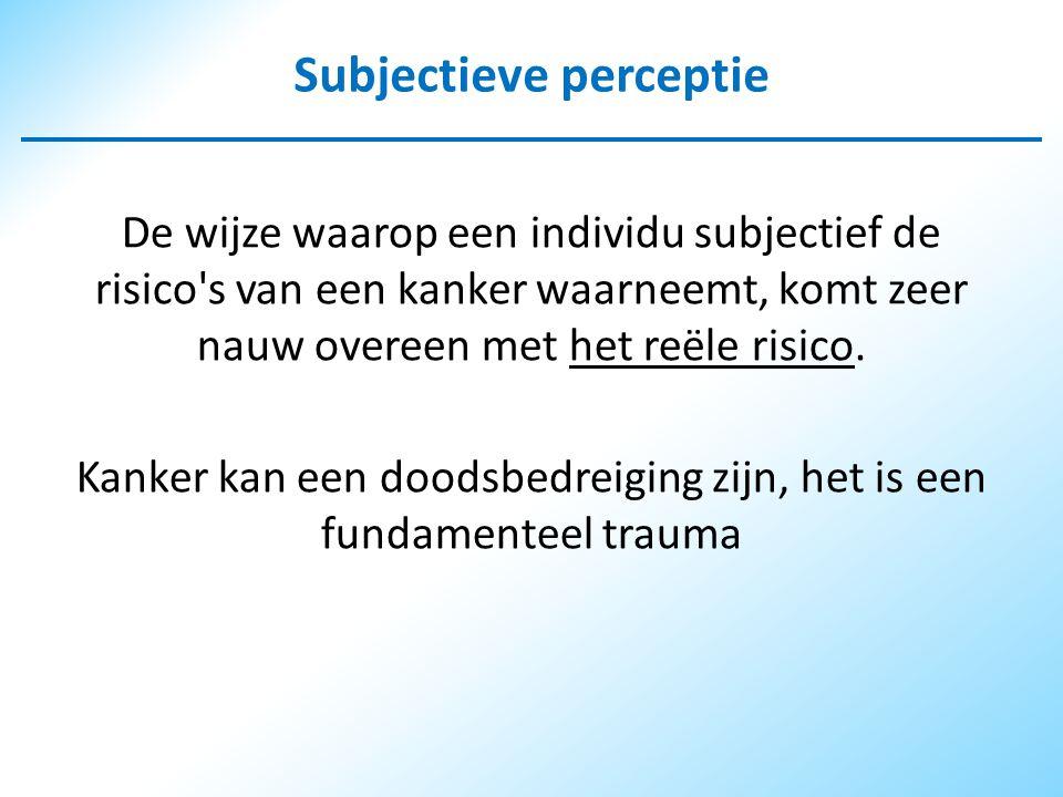 Subjectieve perceptie