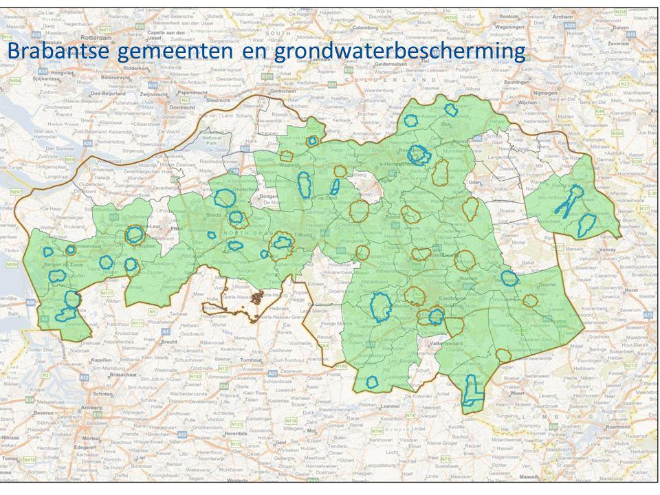 Brabantse gemeenten en grondwaterbescherming