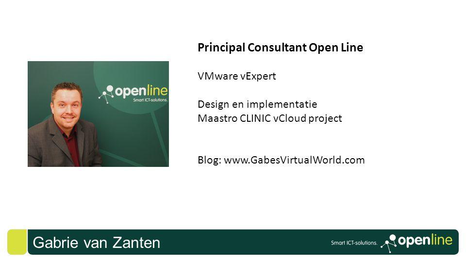 Gabrie van Zanten Principal Consultant Open Line VMware vExpert