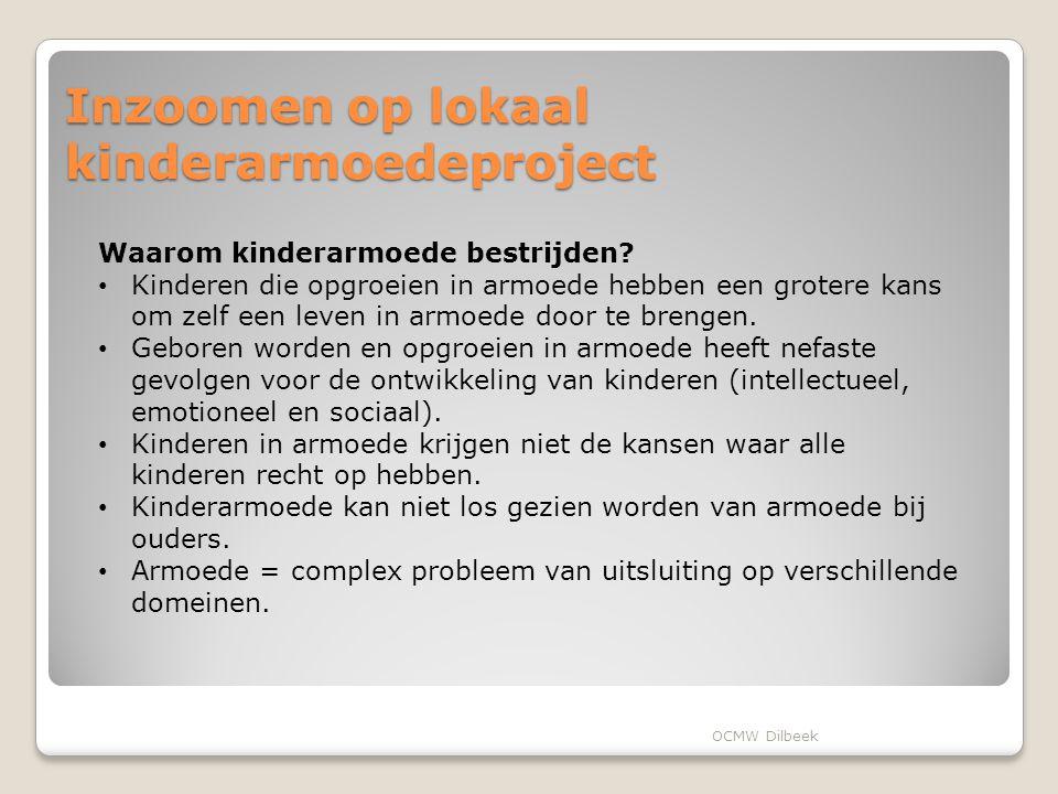 Inzoomen op lokaal kinderarmoedeproject