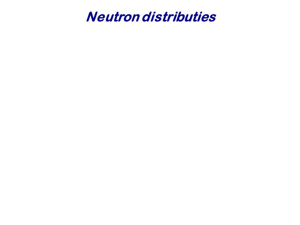 Neutron distributies