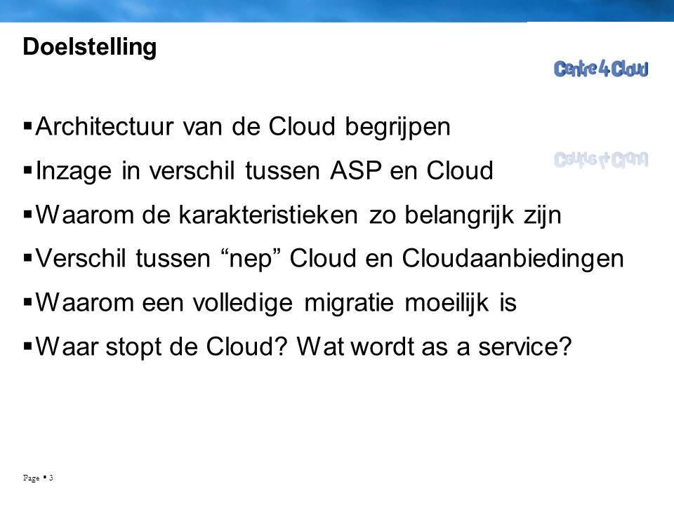 Architectuur van de Cloud begrijpen