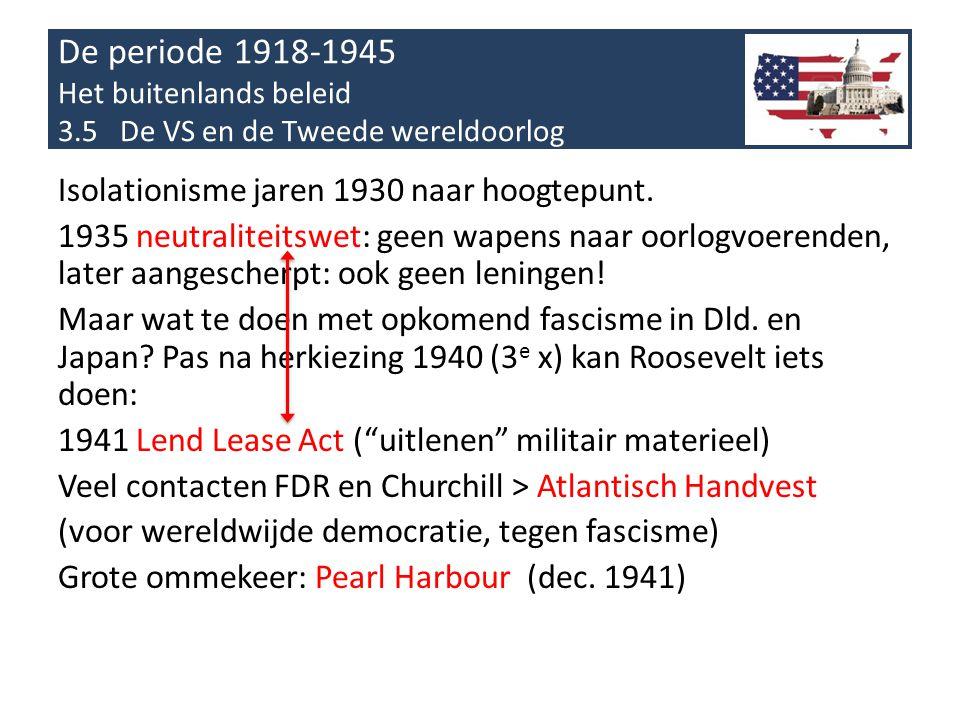 De periode 1918-1945 Het buitenlands beleid 3