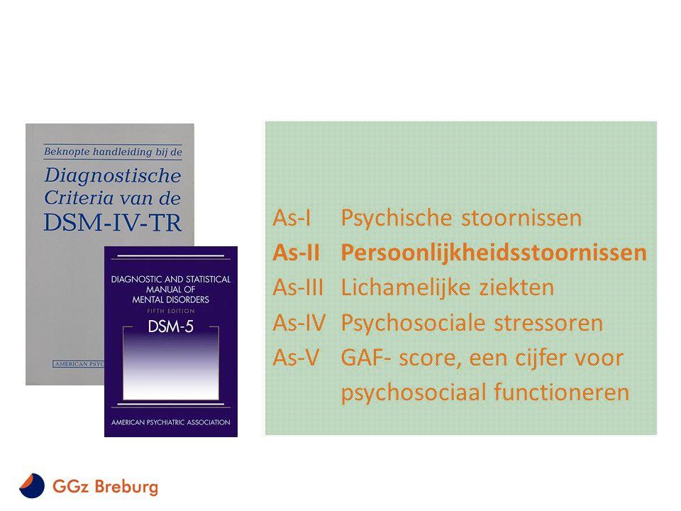 As-I Psychische stoornissen