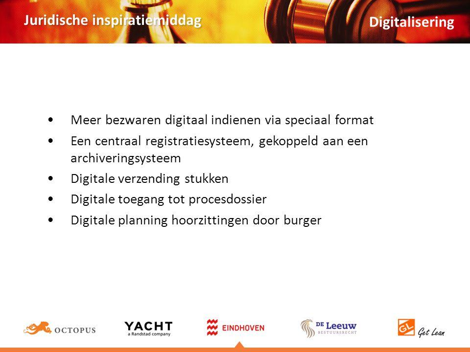 Digitalisering Meer bezwaren digitaal indienen via speciaal format