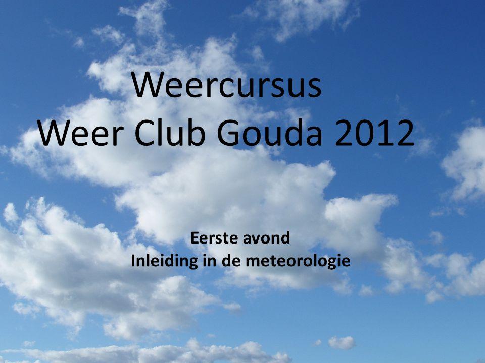 Inleiding in de meteorologie