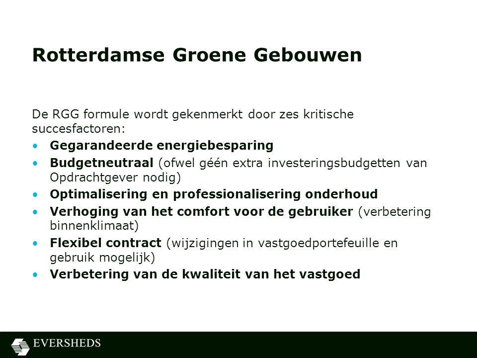 Rotterdamse Groene Gebouwen