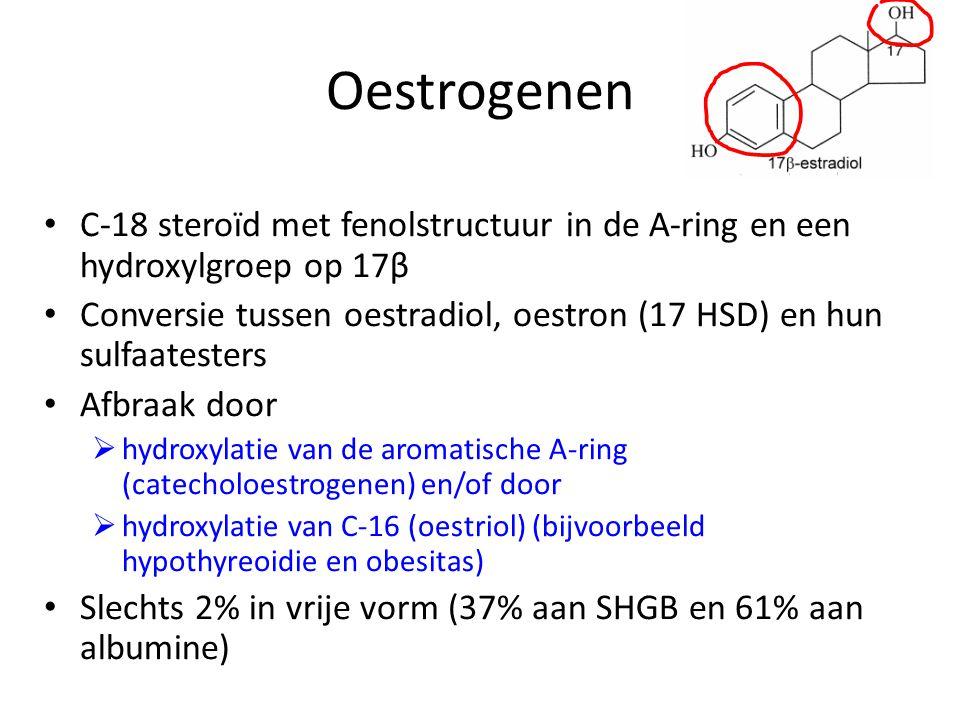 Oestrogenen C-18 steroïd met fenolstructuur in de A-ring en een hydroxylgroep op 17β.