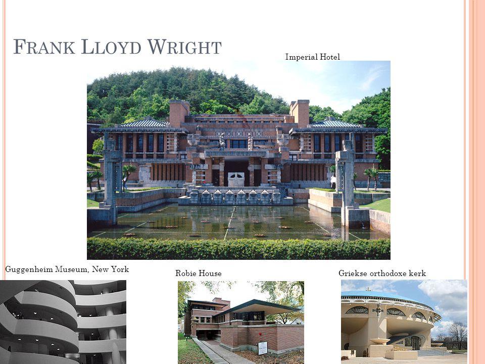Frank Lloyd Wright Imperial Hotel Guggenheim Museum, New York