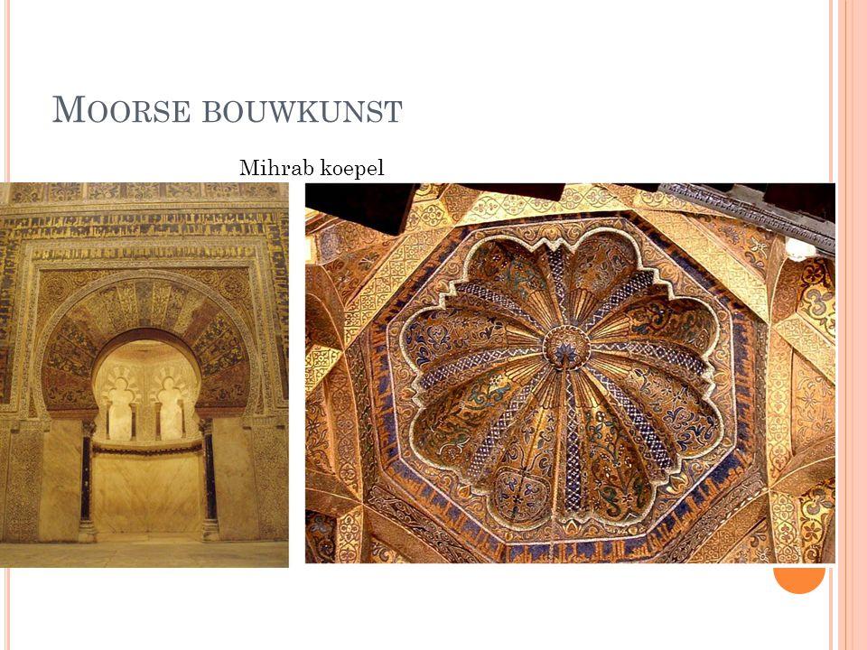 Moorse bouwkunst Mihrab koepel