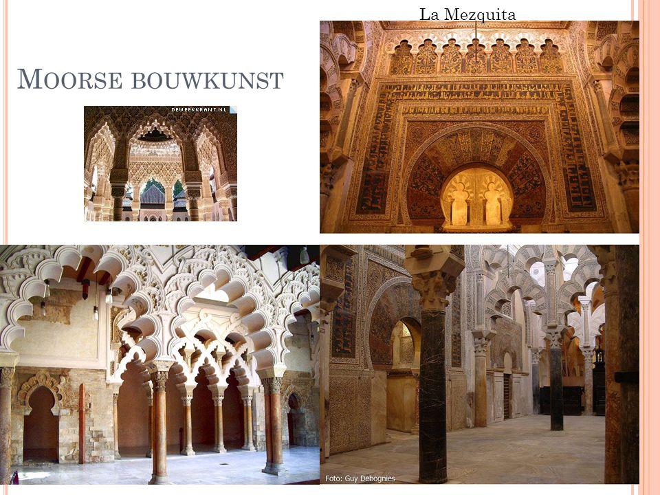 La Mezquita Moorse bouwkunst