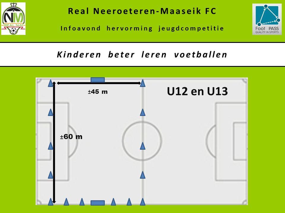 U12 en U13 Real Neeroeteren-Maaseik FC Kinderen beter leren voetballen