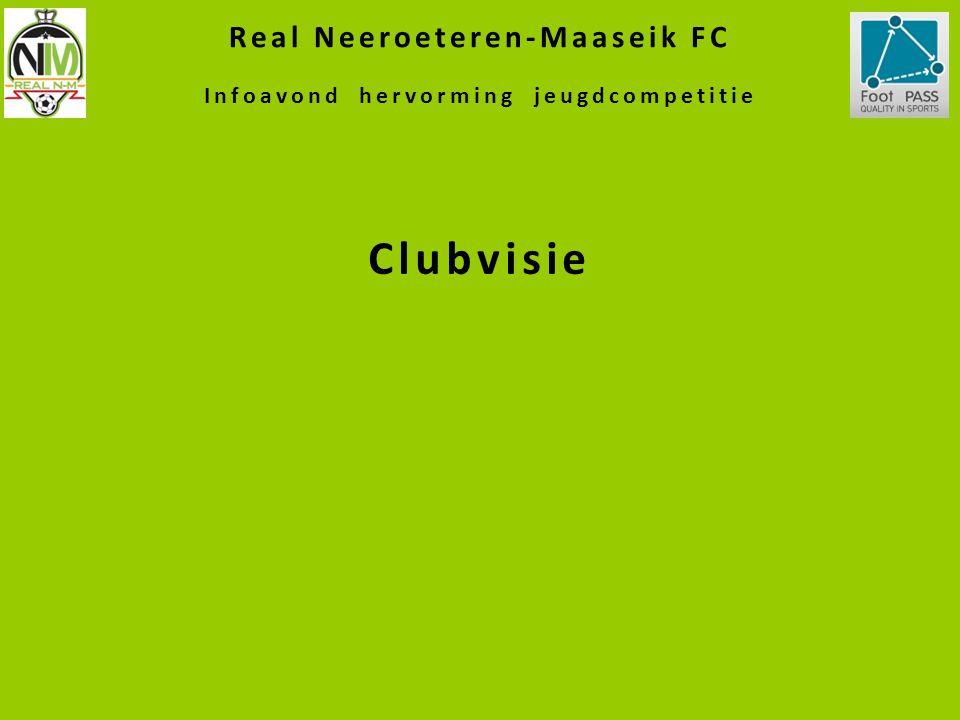 Real Neeroeteren-Maaseik FC Infoavond hervorming jeugdcompetitie