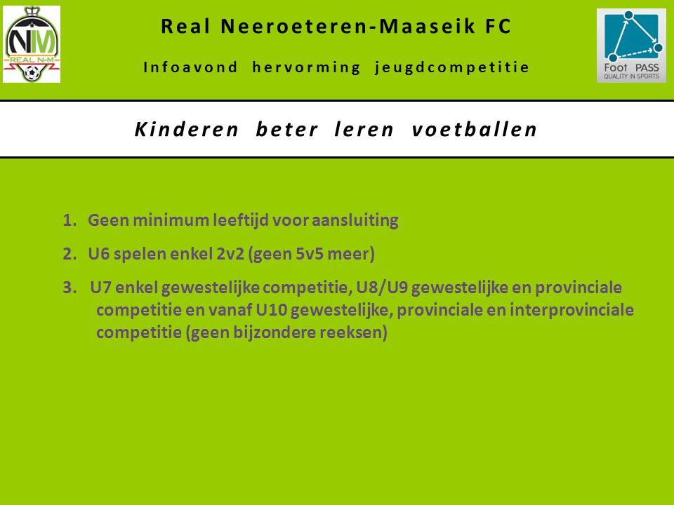Real Neeroeteren-Maaseik FC Kinderen beter leren voetballen