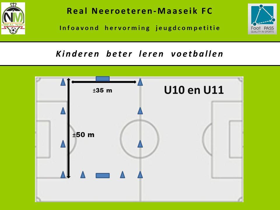 U10 en U11 Real Neeroeteren-Maaseik FC Kinderen beter leren voetballen