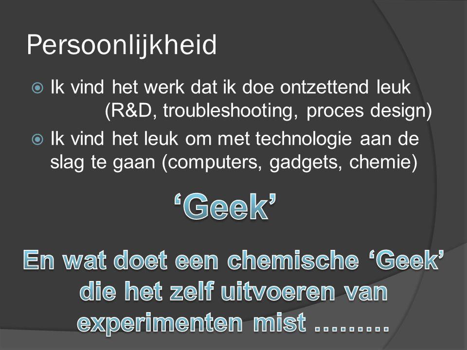 'Geek' Persoonlijkheid