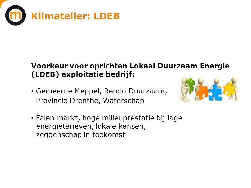 Klimatelier: LDEB Provincie Drenthe, Waterschap