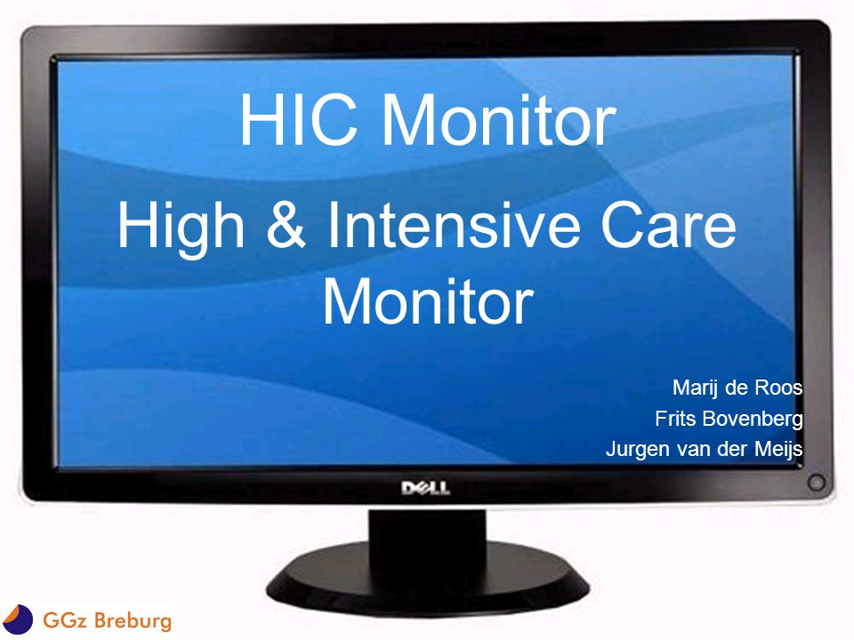 High & Intensive Care Monitor