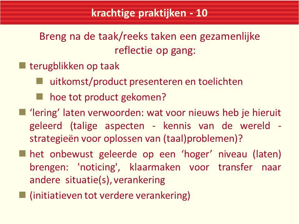 krachtige praktijken - 10