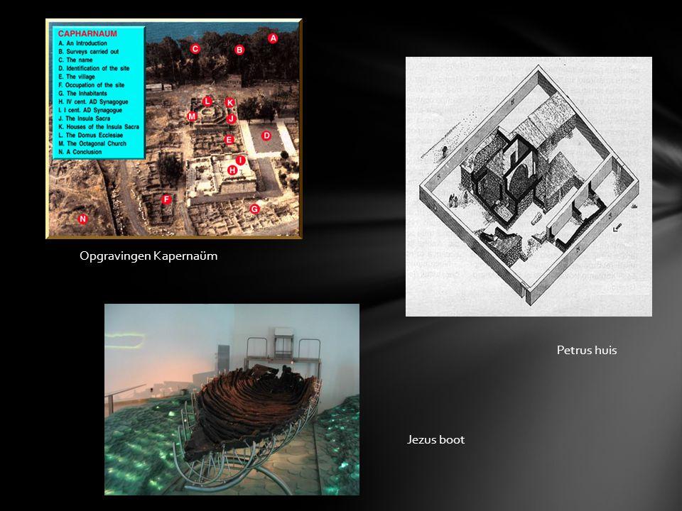 Opgravingen Kapernaüm