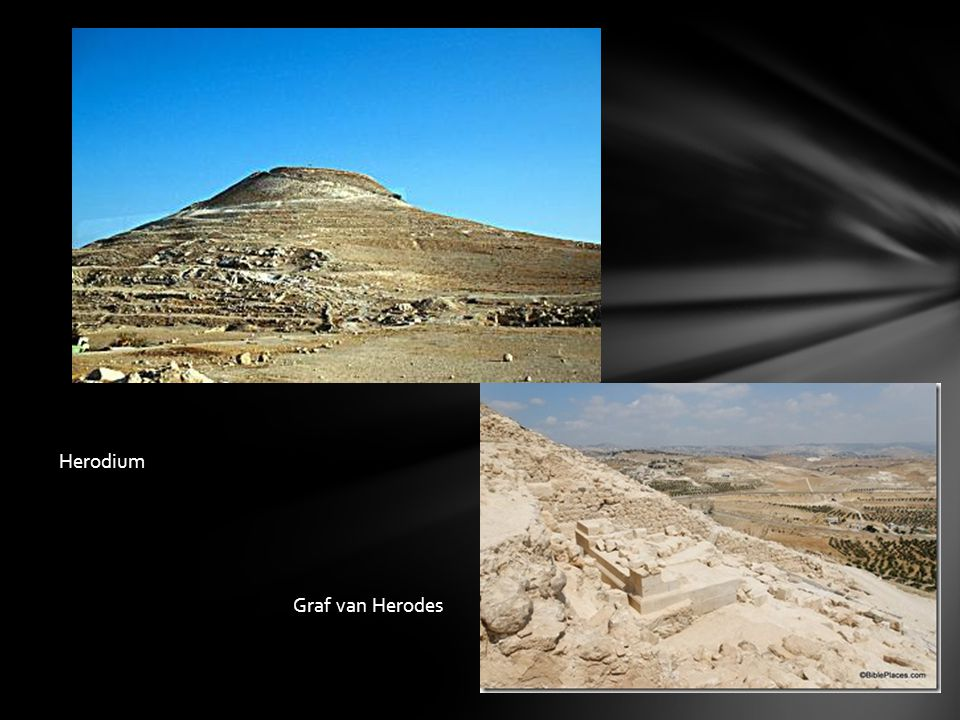 Herodium Graf van Herodes