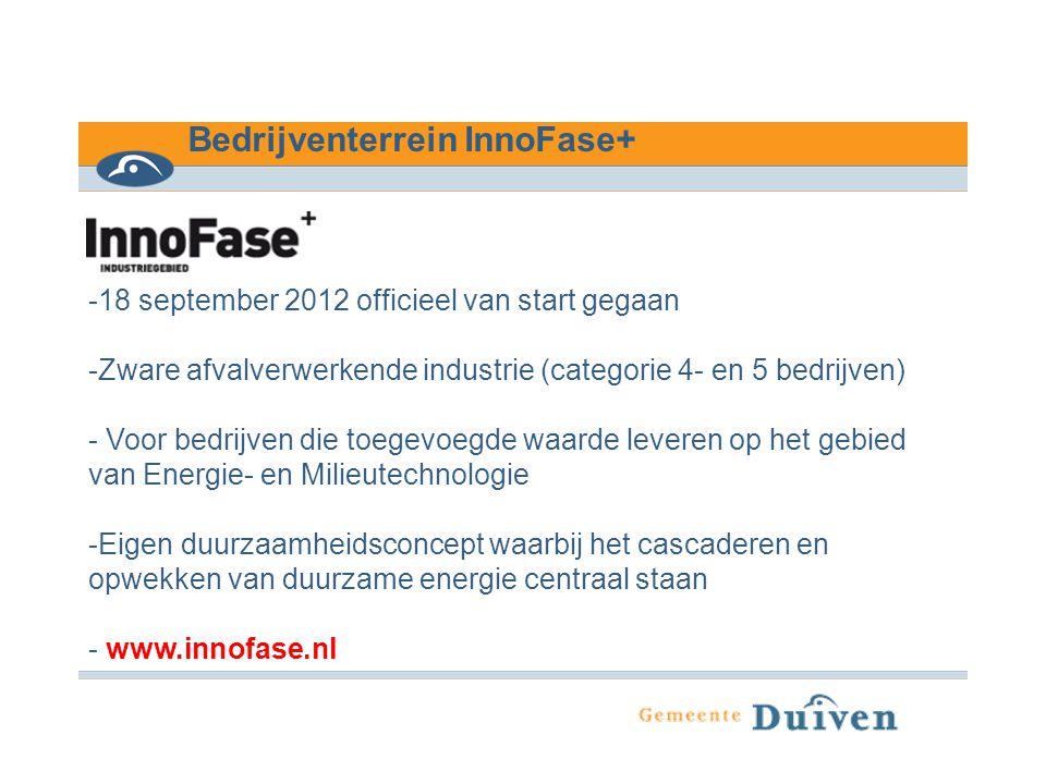 Bedrijventerrein InnoFase+