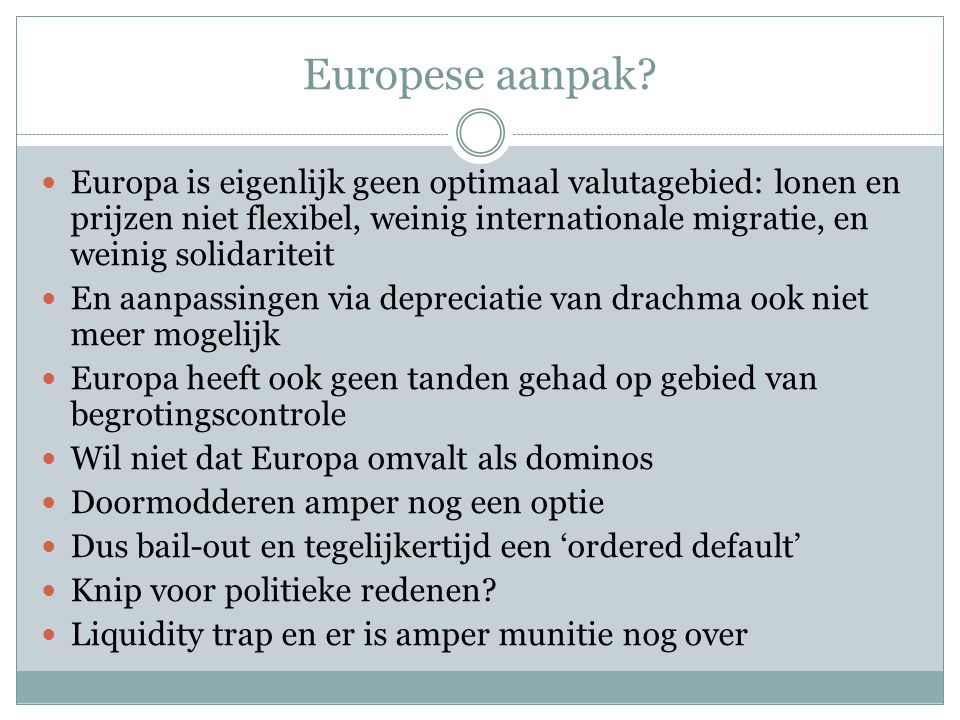Europese aanpak