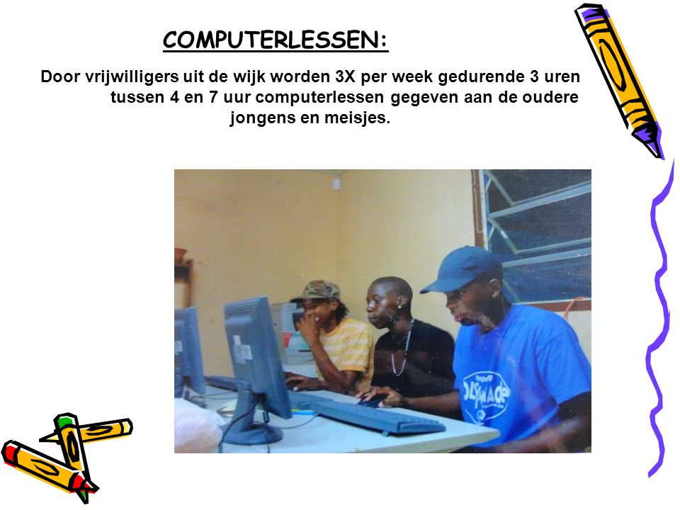 COMPUTERLESSEN: