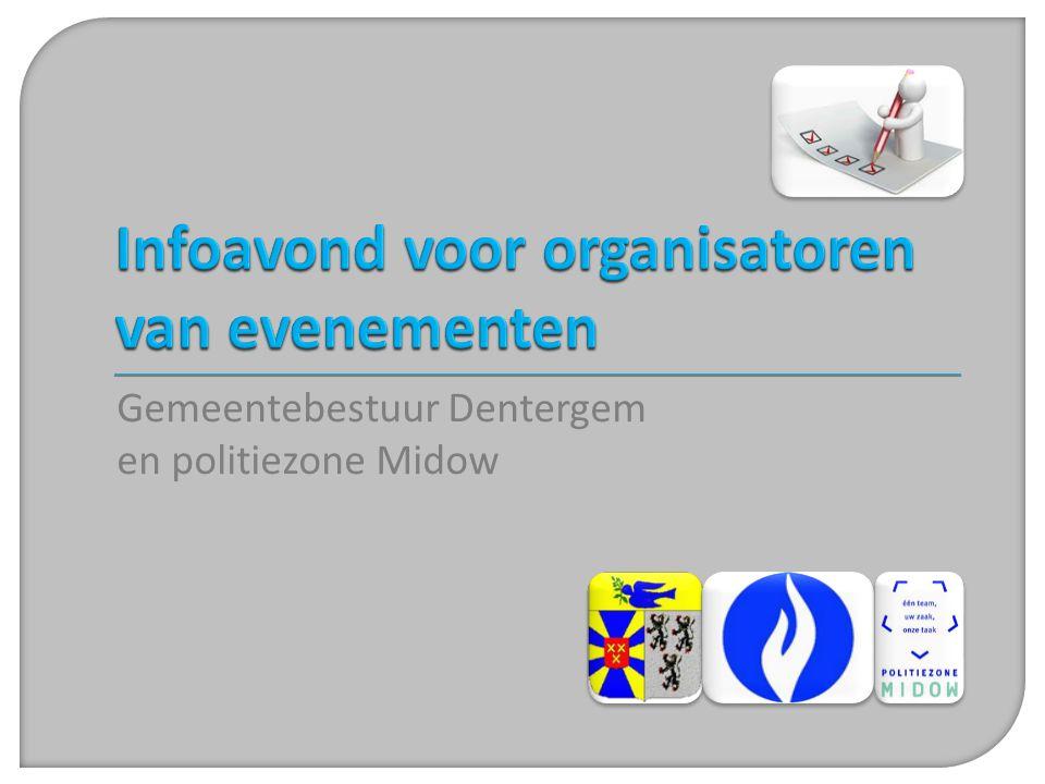 Infoavond voor organisatoren van evenementen