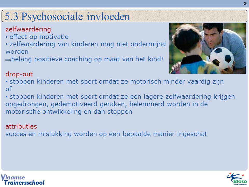 5.3 Psychosociale invloeden