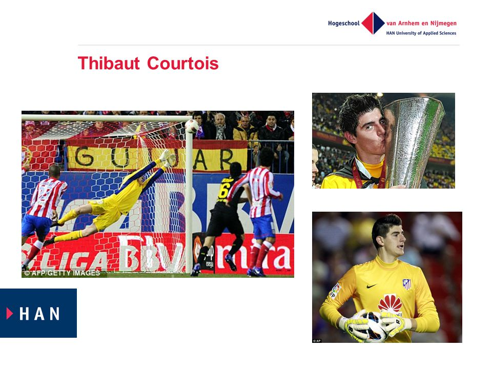 Thibaut Courtois Courtois eigenlijk hetzelfde voorbeeld als Pietertje, alleen had hij daadwerkelijk talent voor meerdere sporten.