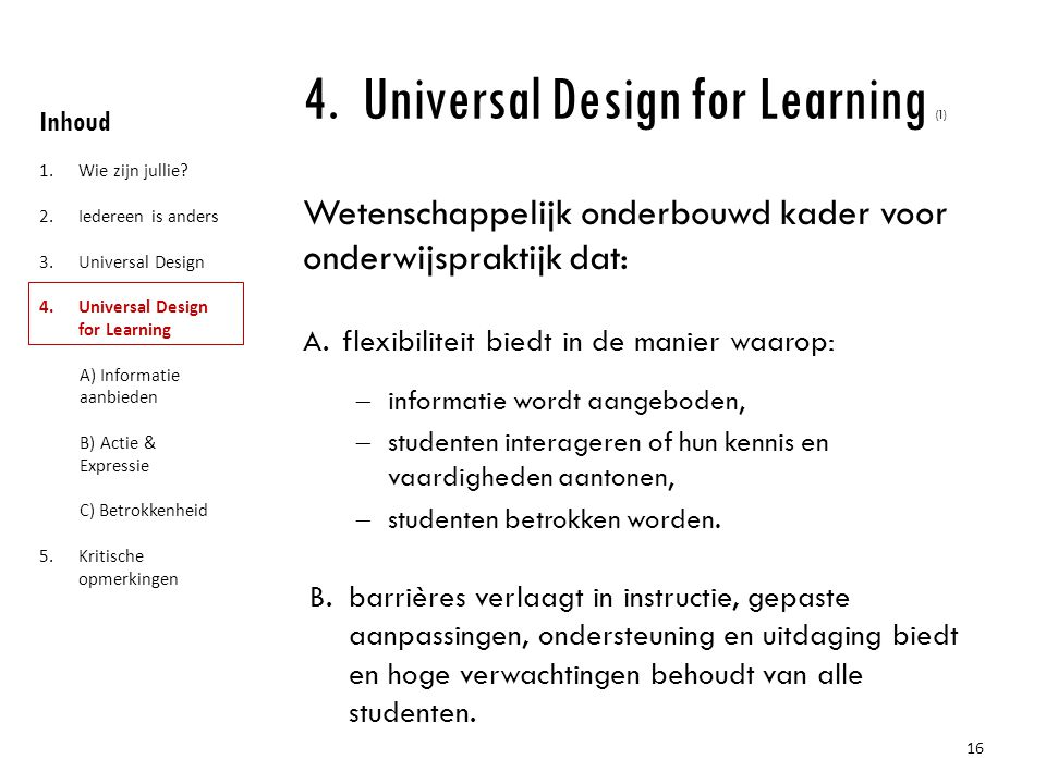 Universal Design for Learning (1)