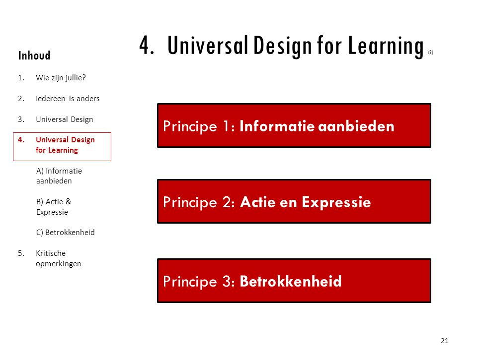 Universal Design for Learning (2)
