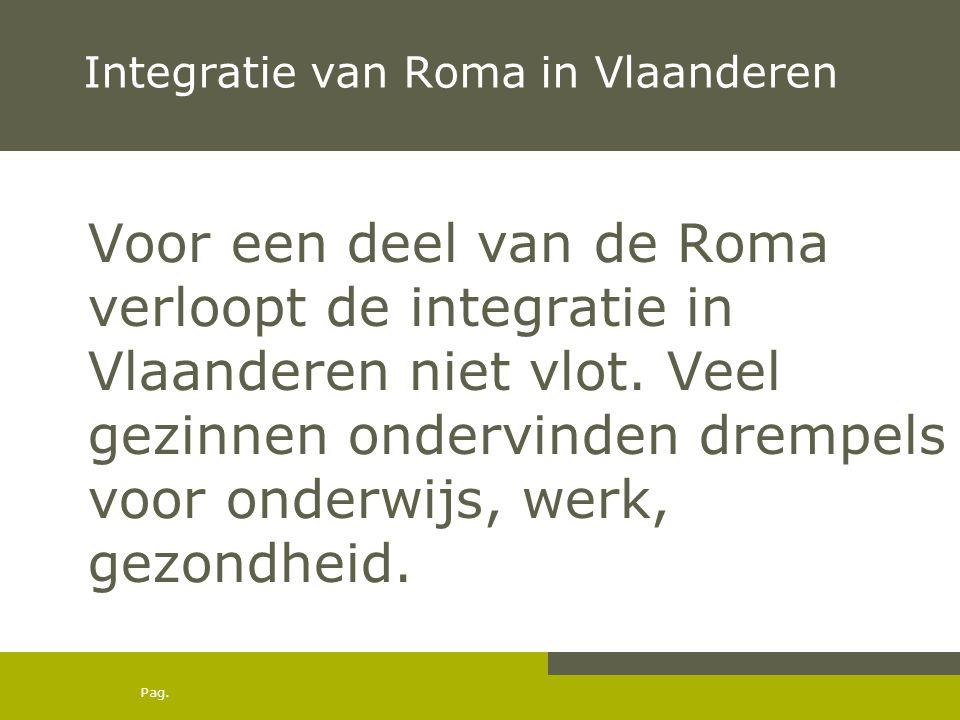 Integratie van Roma in Vlaanderen