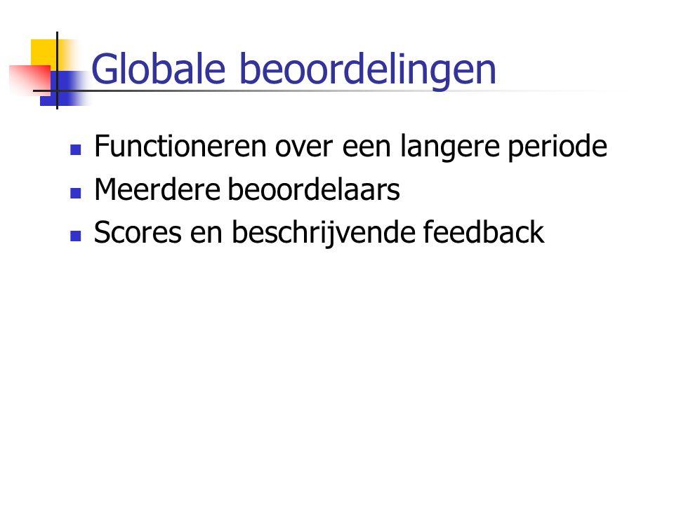 Globale beoordelingen